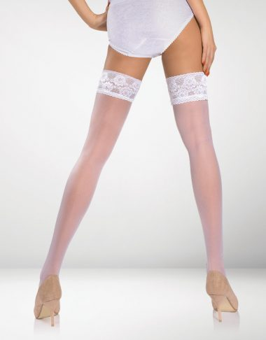 Aprilia 20 Denier Hold Ups - White