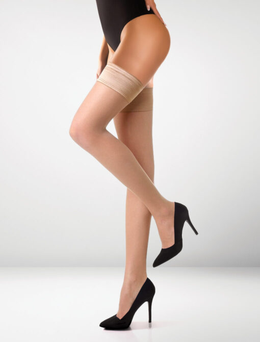 Milano 15 Denier Hold Ups - Natural